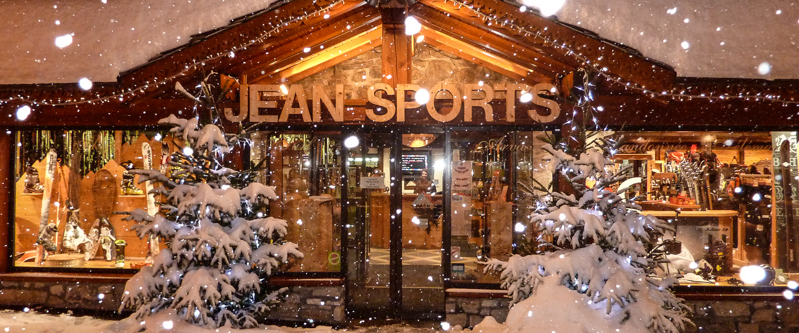 Jean Sports, Val d'Isere. France